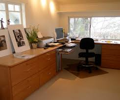 want to add desk shelf cabinet for home office design art studio add home office