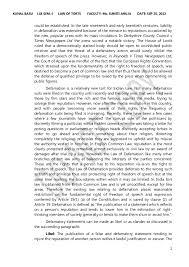 defamation law in   2