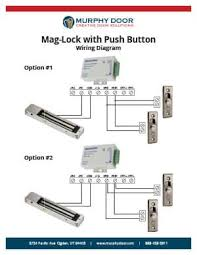 magnetic lock support murphy door wiring diagram for mag lock w push buttons