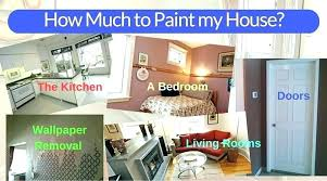 per square foot to paint interior how much to charge for painting per square foot