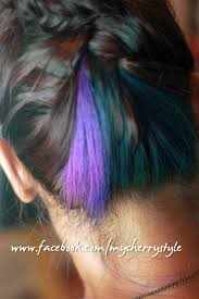 Peacock Inspired Hair Colour So Glad