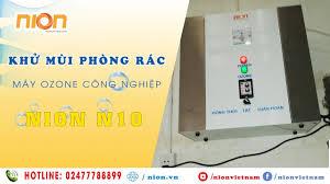 Khử mùi phòng chứa rác chung cư Samland Giai Việt    Máy ozone công nghiệp  N10 -