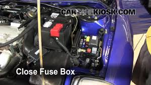 replace a fuse 2000 2005 mitsubishi eclipse 2005 mitsubishi fuse box 2000 mitsubishi eclipse 6 replace cover secure the cover and test component