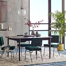 ... Cozy West Elm Parsons Expandable Dining Table Ellipse Expandable Dining  Table Splat Dining Chair West Elm