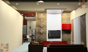 Tv Panel Designs For Living Room Residential Interior Design For Mrsbrindha Srinivasan At