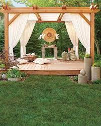 diy backyard pergola woohome 3