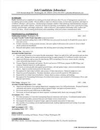 Accounts Payable Resume Objective Examples Resume Resume
