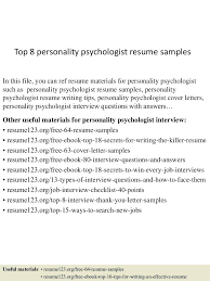 Resume For Counselor Resume Clinical Psychologist Resume