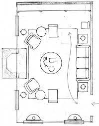 living room floor plan variation chairs sofa