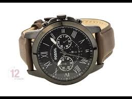 fs4885 fossil grant chronograph mens leather watch brown fs4885 fossil grant chronograph mens leather watch brown