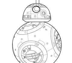 Bb8 Coloring Page Coloring Page For Kids Bb8 Httpletsdrawkids