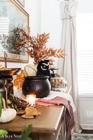 witchy halloween dining room a blue nest
