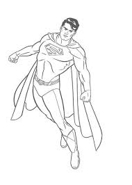 Small Picture Amazing Superman Coloring Pages Kids Printable Super Heroes