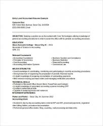 Sample Accountant Resume Unique Download Our Sample Of 48 Printable Accountant Resume Templates Pdf