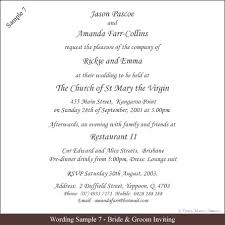 Wedding Invitation Wording Examples Country Samples South Indian