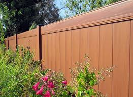 brown vinyl fence panels. Perfect Fence Brown Vinyl Fence Panels Throughout V
