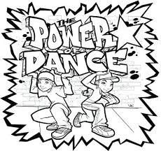 Dance Coloring Pages Openwhoisinfo