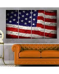 designart mt12907 271 large american flag watercolor glossy metal wall art red  on large metal wall art red with deals on designart mt12907 271 large american flag watercolor
