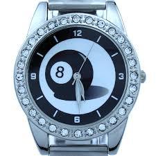 online get cheap ball mens watch aliexpress com alibaba group new fashion popular black eight 8 ball leather women men watch quartz dress wristwatch l7