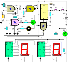 counter circuit page 5 meter counter circuits next gr Wiring Diagram For Counter digital step km counter circuit schematic wiring diagram for intermatic sprinkler timer