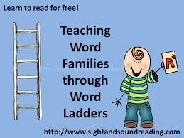 Teaching Word Endings using word ladders