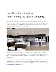 Design Well India How Silver Petal Interiors Is Transforming The Interiors