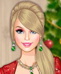 barbie glam make up game