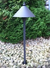 led outdoor low voltage landscape path light scorpius cast aluminum bronze pathlight
