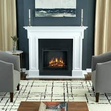 real flame electric fireplace insert electric fireplace logs no heat