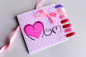 Mothers Greeting Card How To Make Easy Greeting Card Mothers Day Step By Step