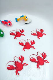 bathroom accessories by non slip bathtub mats bathtub stickers red lobsters safety