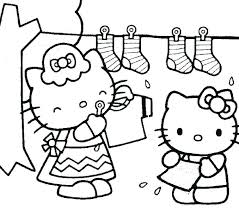 Hello Kitty Coloring Page Printable Free Hello Kitty Coloring Pages