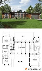 modern house floor plans. Delighful Modern Plan 48476 Wwwhouseplanscom Modern Style House  3 Beds 25 Baths  2557 SqFt Main Floor Warm Modern House Floor Plan And Elevation On Plans E