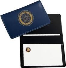 Business Card Case American Legion Flag Emblem
