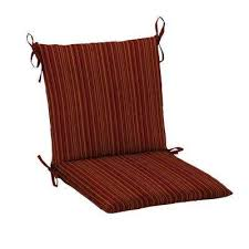 Mid Back Stripe Outdoor Dining Chair Cushions Outdoor Chair