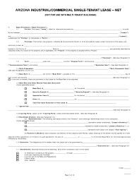 Sample Commercial Lease Agreement Template | Trattorialeondoro
