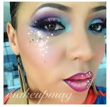 80s party makeup