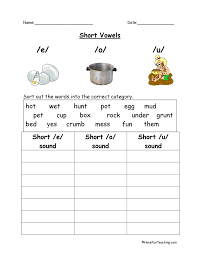 Long Vowel Ai Worksheets.Short Vowel I And Long Vowel I Worksheet ...