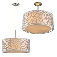 contemporary pendant lighting fixtures. elk 530013 autumn breeze contemporary brushed nickel overhead light fixture pendant loading zoom lighting fixtures n