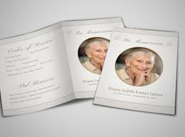 funeral pamphlet design custom funeral programs online mycreativeshop