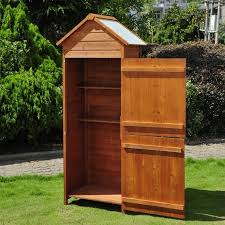 tool shed waterproof outdoor storage wooden garden storage box vinyl shed wood sheds for shed
