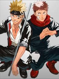 Naruto and Itadori in 2021 | Anime crossover, Jujutsu, Naruto uzumaki fanart