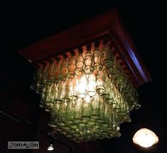e bottle chandelier at jack in for plastic soda
