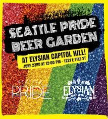 seattle pride beer garden