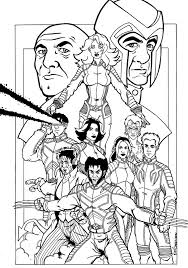 Small Picture Xmen Familiy Coloring Pages x men coloring Pinterest Craft