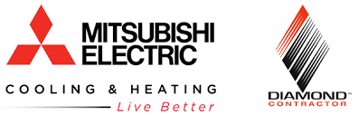 mitsubishi electric cooling and heating logo. mitsubishi mini-splits electric cooling and heating logo t