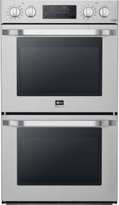 lg lswd306st 30 inch double electric wall oven with convectionc temperature probec easycleanc 9 4 total capacity bake element 2 500w 8 pass broiler