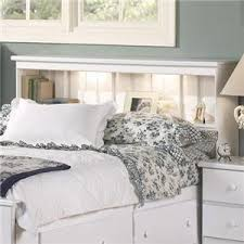 white queen bookcase headboard. Delighful Bookcase Lang Shaker FullQueen Bookcase Headboard With Lights On White Queen A