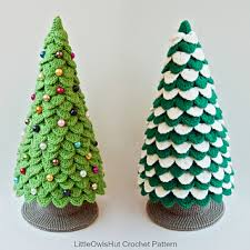 Crochet Christmas Tree Pattern Beauteous Ravelry 48 Christmas Tree New Year Pattern By LittleOwlsHut
