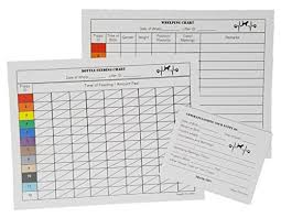 Whelping Chart Two Arrows Puppy Whelping Charts For Record Keeping Great For Breeders Works Great For Recording And Tracking Data For Litters
